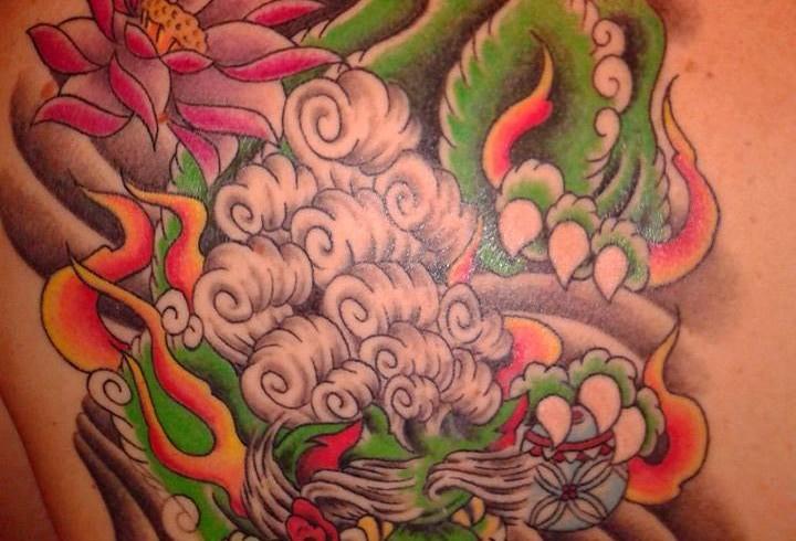 Tattoo, intramontabili giapponesi. E, su tutti, il foo-dog