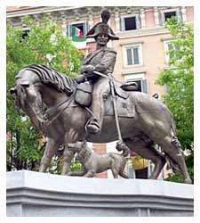 Il cane come mascotte è una tradizione per i Carabinieri