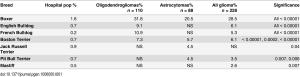 Qui le razze in cui alcuni tipi di tumore risultano sovrarappresentati rispetto alla media