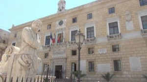 Il palazzo comunale di Palermo