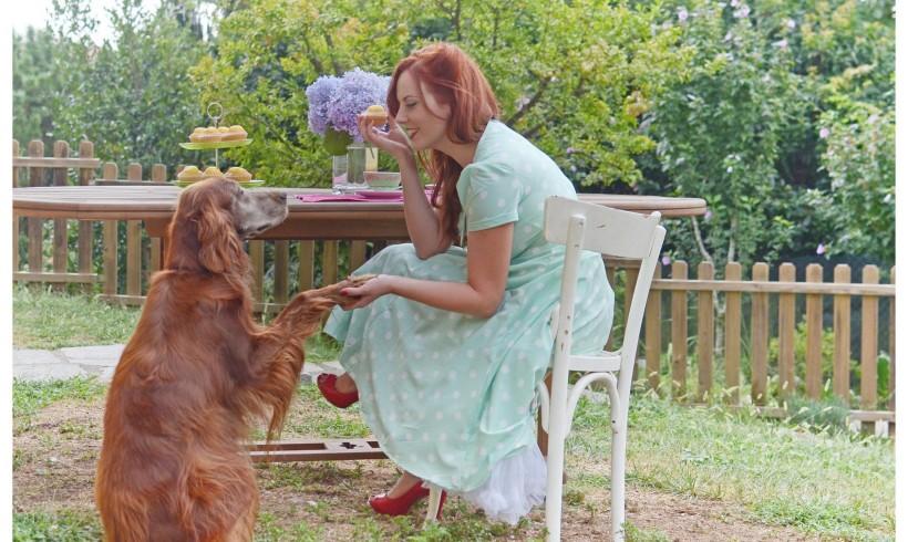Da cane nel serraglio a regina dei salotti, la storia di Maggie