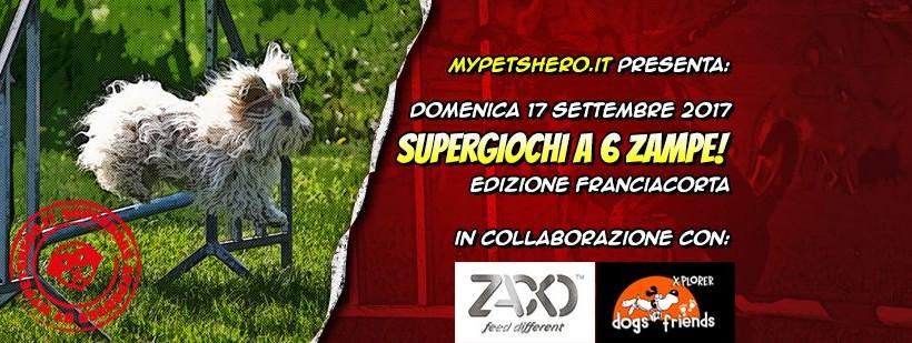 I balocchi? Con My Pet's Hero diventano SuperGiochi a 6 Zampe! Appuntamento a Brescia