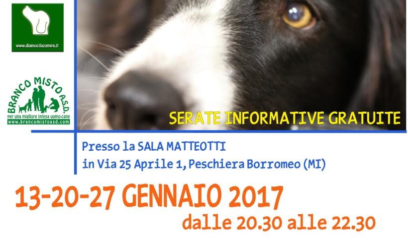 """Gran finale per le serate cinofile gratuite a Peschiera Borromeo. Con Branco Misto per capire """"Come comunica il cane"""""""