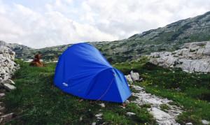 La tenda per la notte