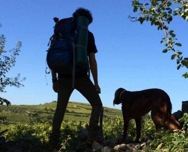 """""""Un viaggio, un uomo, un cane"""": tris letterario nel libro di Vito Di Lorenzo"""