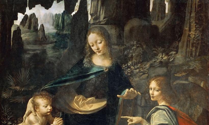 """C'è un cane al guinzaglio nella """"Vergine delle Rocce"""" di Leonardo? Si discute sulla scoperta made in Italy. E c'è chi dice no"""