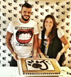 Simone e Veronica De Luca con il loro marchio OJI