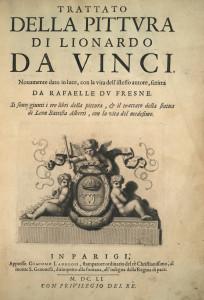 Leonardo espose le sue teorie pittoriche nel Trattato