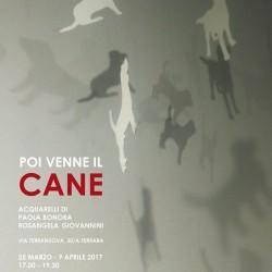 """""""Poi venne il cane"""". Dove? A Ferrara, nella mostra benefica con gli acquarelli di Paola Bonora e Rosangela Giovannini"""