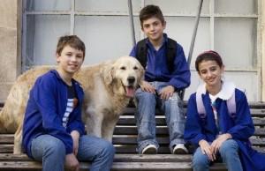 Tomak con i suoi giovani colleghi
