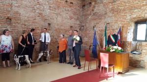 Lo sposo in attesa con Birra e Funanà