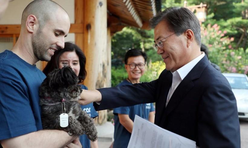 Tory, il primo first dog adottato dal canile