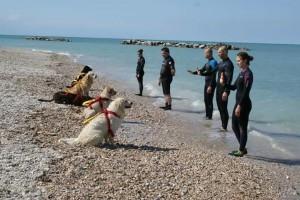 Anche il gruppo di salvataggio in mare di Fano alla manifestazione