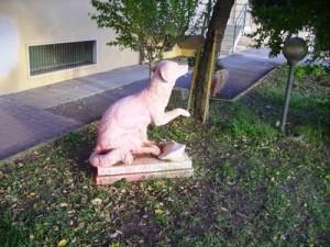 La statua per Lampo