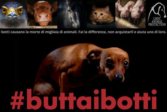 Non farli morire di paura: per le feste #buttaibotti! Torna la campagna Lndc