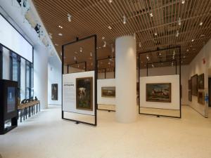 Gli spazi interni del museo (foto: American Kennel Club)