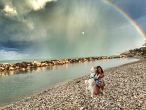 Il cane Samuele con la sua Alessandra sono i vincitori del concorso