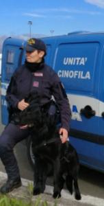 Okar e Giorgia in servizio